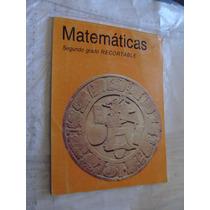 Libro Matematicas Segundo Grado Recortable , Año 1996 , Comp