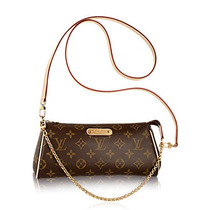 Nueva! Louis Vuitton Eva Monogram 100%original Bolsa Lv 100%