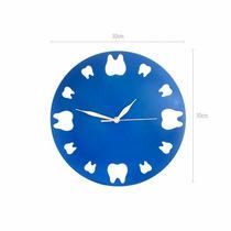 Reloj De Pared Para Odontólogo Regalo Dental Dentista Rj-005