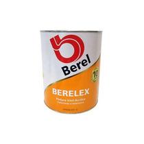 Pintura Berelex Vinil-acrílica Blanco (1 Galón) Berel