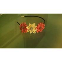 Diademas Y Pasadores En Flores