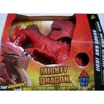 Poderoso Dragón Luz Y Sonido De La Batería Operado Dragón