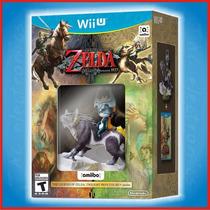 Zelda Twilight Princess Hd + Amiibo Wii U   Tac Electronics!