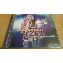 Hannah Montana, Miley Cyrus, Lo Mejor Cd Album Doble De 2008