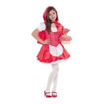 Disfraz Caperucita Roja Caperuza Niñas Y Mujeres
