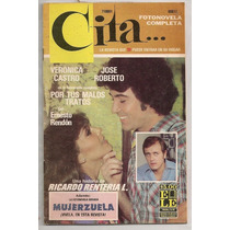Fotonovela Verónica Castro 1980 + Revista Verónica Castro 72