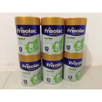 Caja 6 Piezas Frisolac Comfort Leche Polvo Formula Infantil