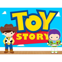 Kit Imprimible Toy Story Baby Candy Bar Tarjetas Y Mas #1
