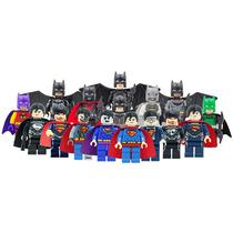 Set De 16 Figuras Batman Vs Superman Compatibles Con Lego