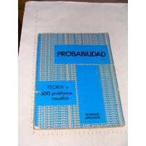 Libro Probabilidad , Serie Schaum, Seymour , Año 1978 , 151