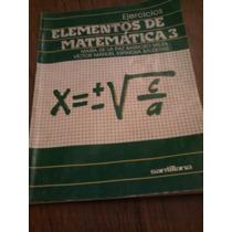 Ejercicios Elementos De Matemáticas 3 - Maria De La Paz B.