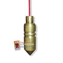 Pendulo Bala Con Testigo En Laton - 4cm Altura Aproximado