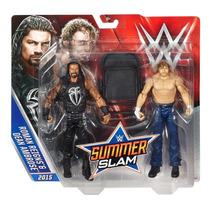 Wwe Dean Ambrose Y Roman Reigns Battle Pack Del Summerslam
