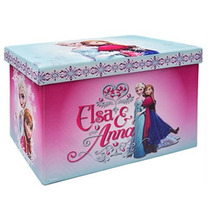 Baul Frozen Anna Elsa Avengers Guardajuguetes Banca