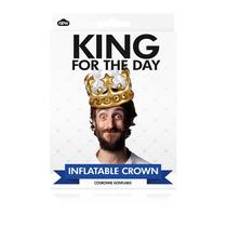 Corona Inflable - King Para El Traje Real Vestido Día