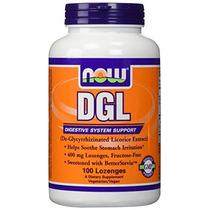 Dgl Por Now Foods - Apoyo Digestivo (400 Mg - 100 Pastillas)