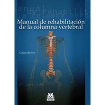Libro De Rehabilitación De La Columna Vertebral