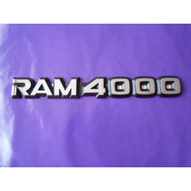 Emblema Ram 4000 Dodge Camioneta