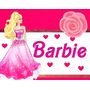 Kit Imprimible Barbie, Invitaciones Y Cajitas