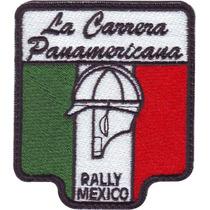 Carrera Panamericana Carros Parches Bordados