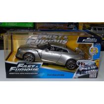 1:24 Nissan Gt-r R35 Plata Rapido Y Furioso Jada C Caja