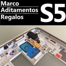 Marco Bisel Carcaza Frame Samsung S5 Chasis Bezel G900 M H F