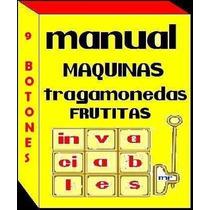 Manual Maquina Tragamonedas Frutitas Picachu Invaciables