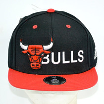 Chicago Bulls Adidas Gorra 100% Original 2