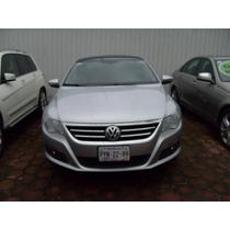 Volkswagen Passat Cc V6 Navegador 2012 Plata $ 295,000.00