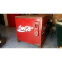Antigua Hielera De Coca Cola !