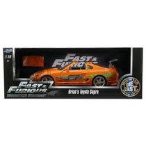 Jada Toyota Supra 1/18 Brian Rapido Y Furioso Fast & Furious