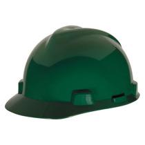 Casco De Seguridad Ala Frontal Verde 1 One-touch Msa
