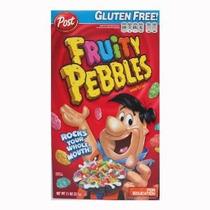 Pon Fruity Pebbles Cereales Cajas 11 Onzas (paquete De 4)