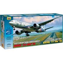 Avion Zvezda Boeing 777 300r 1/144 Armar Pintar/ No Revell