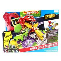 Pista Hotwheels Fisher Price Bahía De La Serpiente
