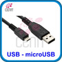 Cable Usb Macho A Micro Usb Macho 3 Metros Microusb Sp0