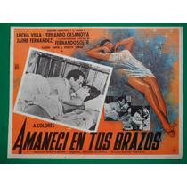 Lucha Villa Amaneci En Tus Brazos Fernando Casanova Original