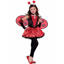 Hermoso Disfraz De Ladybug Talla 8/10 Años