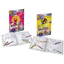 Crayola Colores Vivos Acción Colorear - Combo Set - Barbie Y