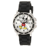 Reloj Disney Mickey Mouse Extensible Negro