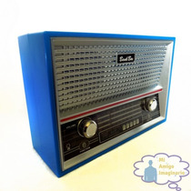 Alcancia Retro Radio Antiguo Am/fm Clasica Vintage