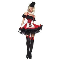 Disfraz Reina De Corazones Halloween Mujer Sexy