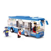 Modelo De Autobús - Sluban Individual Decker Transporte Tou