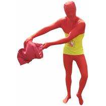 España Morphsuit Traje - Bandera Rot Xxl Traje Bodysuit Dep