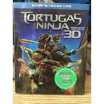 Tortugas Ninja Bluray 3d