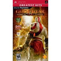 Dios De La Guerra Cadenas Del Olimpo - Sony Psp