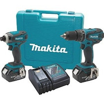 Makita Xt211 18v Lxt Litio-ion Inalámbrico Combo Kit 2 Pieza