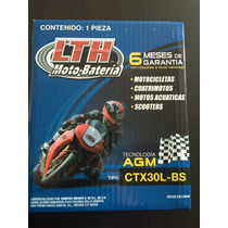 Motobateria Ctx30lbs Harley Davidson 1200 Cm En Adelante