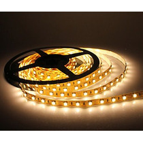 Kit 15 Tiras Led Blanco Calido Cubierta Smd5050 Rollos 5m