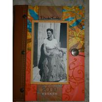 Preciosa Agenda Sin Usar 2009 De Frida Kahlo Pasta Dura